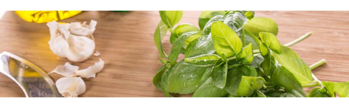Essential aromatic herbs for veritable smart garden