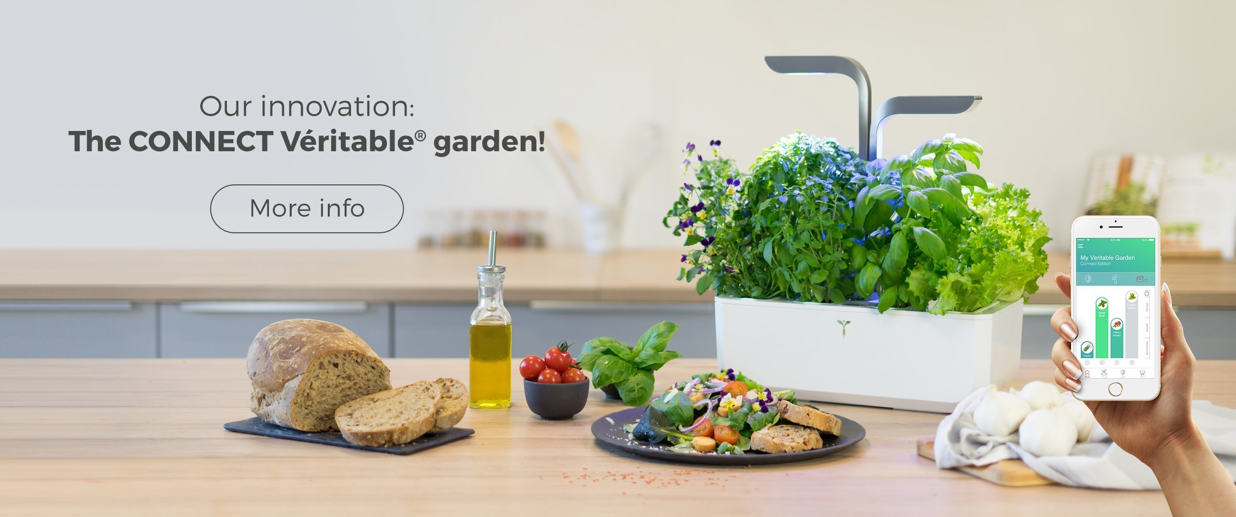 Our innovation: CONNECT VERITABLE® GARDEN